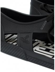Melissa + Vivienne Westwood Anglomania sneaker nera da uomo calzature uomo prezzo