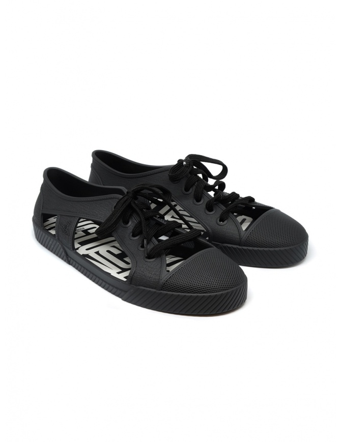 Melissa + Vivienne Westwood Anglomania black sneaker 32354-01003 BLK womens shoes online shopping