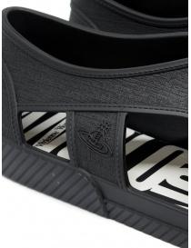 Melissa + Vivienne Westwood Anglomania sneaker nera calzature donna prezzo