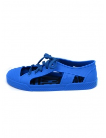 Melissa + Vivienne Westwood Anglomania blue sneaker