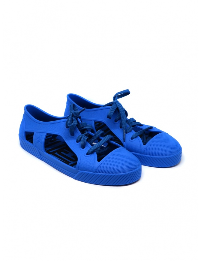 Melissa + Vivienne Westwood Anglomania blue sneaker 32354-01690 BLU womens shoes online shopping