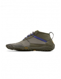 Vibram Fivefingers women's army green purple shoes V-TREK