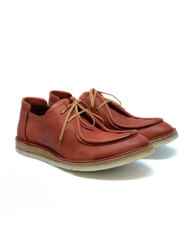 Scarpa Shoto 7608 Drew colore mattone 7608 DREW MATTONE PARA calzature uomo online shopping