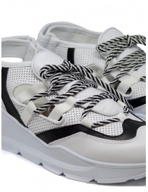Sneakers Leather Crown Open bianche/nere calzature donna acquista online