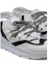 Leather Crown Sneakers WRNG Open white black WRNG OPEN AERO 304 buy online