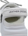 Leather Crown Sneakers WRNG Open white black price WRNG OPEN AERO 304 shop online