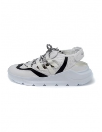 Leather Crown Sneakers WRNG Open white black