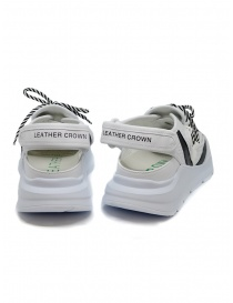 Leather Crown Sneakers WRNG Open white black price