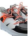 Leather Crown Border Line Sneakers orange black MBRDL AERO UOMO 302 buy online