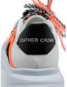 Leather Crown Border Line Sneakers orange black price MBRDL AERO UOMO 302 shop online