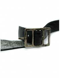 Carol Christian Poell bipolar paper dart bison black belt belts price