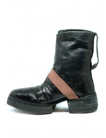 Carol Christian Poell AM/2598 In Between dark green boots buy online