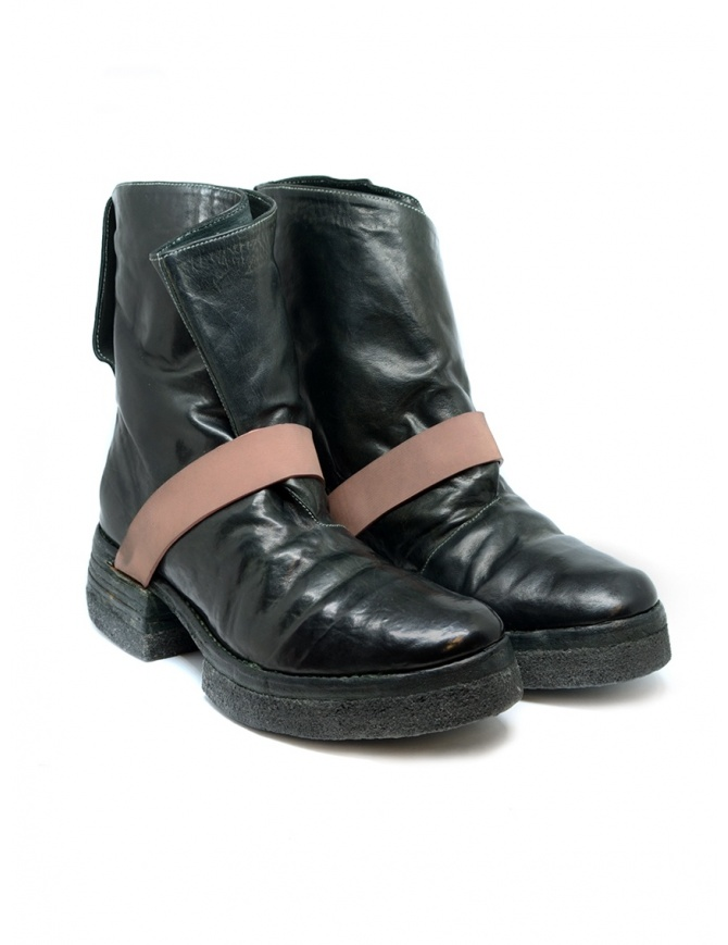 Carol Christian Poell AM/2598 In Between dark green boots AM/2598-IN CORS-PTC/12 mens shoes online shopping
