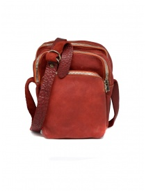 Guidi red BR0 bag in horse leather BR0 SOFT HORSE FULL GRAIN 1006T