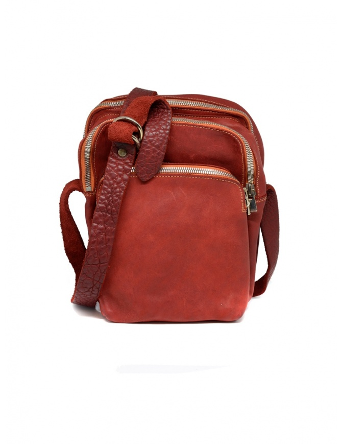 Guidi red BR0 bag in horse leather BR0 SOFT HORSE FULL GRAIN 1006T bags online shopping
