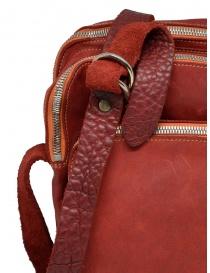 Borsello Guidi BR0 rosso in pelle di cavallo borse prezzo