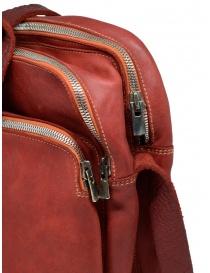 Borsello Guidi BR0 rosso in pelle di cavallo borse acquista online