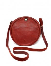 Guidi CRB00 borsa rotonda rossa pelle di cavallo prezzo