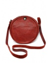 Guidi CRB00 crossbody round bag in red horse leather CRB00 SOFT HORSE FG 1006T price