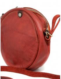 Guidi CRB00 borsa rotonda rossa pelle di cavallo borse prezzo