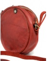 Guidi CRB00 crossbody round bag in red horse leather price CRB00 SOFT HORSE FG 1006T shop online