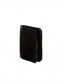Guidi C8 small wallet in black kangaroo leather price