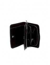 Guidi C8 portafoglio piccolo in pelle nera di canguro online