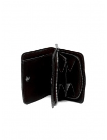 Wallets online: Guidi C8 small wallet in black kangaroo leather