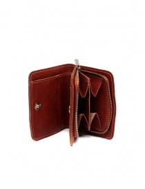 Guidi C8 1006T portafoglio piccolo rosso in pelle di canguro online