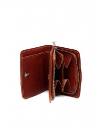 Guidi C8 1006T wallet in red kangaroo leather online