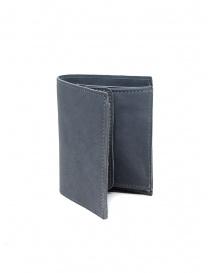 Guidi PT3 portafoglio grigio pelle di canguro