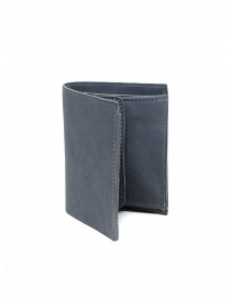 Guidi PT3 wallet in grey kangaroo leather