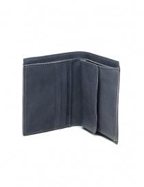 Portafogli online: Guidi PT3 portafoglio grigio pelle di canguro