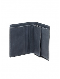 Guidi PT3 wallet in grey kangaroo leather PT3 KANGAROO FULL GRAIN CO49T