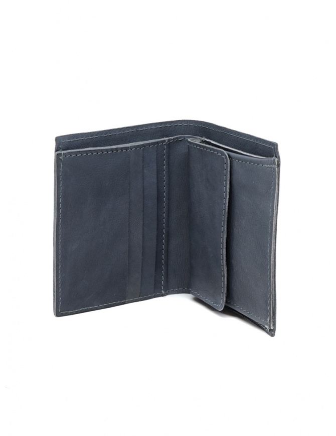 Guidi PT3 wallet in grey kangaroo leather PT3 KANGAROO FULL GRAIN CO49T wallets online shopping