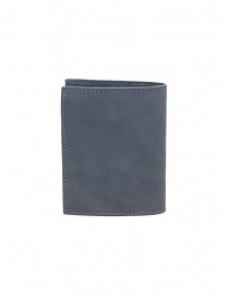 Guidi PT3 portafoglio grigio pelle di canguro portafogli acquista online
