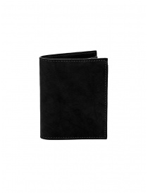 Guidi PT3 men's wallet in black kangaroo leather price