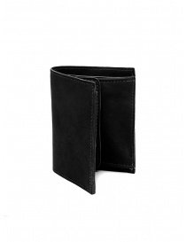 Guidi PT3 men's wallet in black kangaroo leather