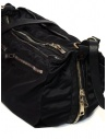 Guidi SP06 expandable black bag in nylon and horse leather shop online bags