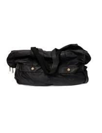 Borsa Guidi SP06 espandibile in nylon e pelle di cavallo acquista online prezzo