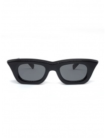 Glasses online: Kuboraum Maske C20 Black Shine sungrasses