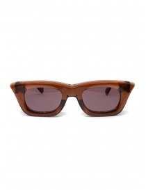 Glasses online: Kuboraum Maske C20 Brown sungrasses