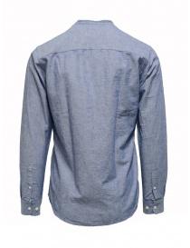 Selected Homme light blue Korean collar shirt
