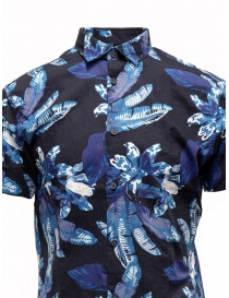 Selected Homme dark sapphire blue tropical shirt price