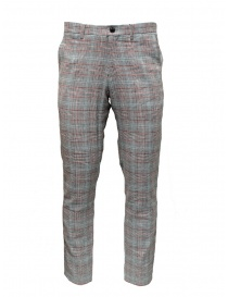Pantaloni Selected Homme grigi completo a quadri online