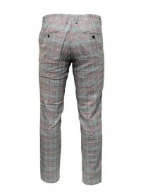 Pantaloni Selected Homme grigi completo a quadri