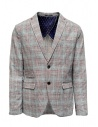 Selected Homme checkered grey suit jacket buy online 16067388 BLK/RED/WHT