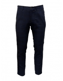 Selected Homme blue and navy suit trousers online