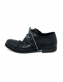 Botta-S black handmade Laccetto shoes LCC H14