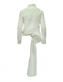 Marc Le Bihan knotted white jacket